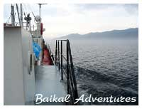 Baikal traveling on the water, The travel information about Lake Baikal, Mongolia, Buryatia, activities, ecological adventures, individual tours in the Baikal region.